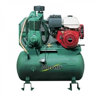 Nuvair Champion R15 w/ 11.7 hp Honda Gas Low Pressure Compressor 19 CFM @ 175 psi w/ Tank & Filtration