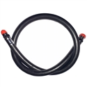 "Bail Out Hose 30"" Male 3/8"" SCUBA to Male 1/4"" NPT"