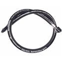 "Black Rock 32"" Second Stage Hose For Divator AGA Mask"