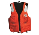 Mustang Survival Classic Industrial Flotation Vest w/ 4 Pockets & SOLAS Reflective Tape