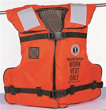 Mustang Survival Type III/V Work Vest w/SOLAS Reflective Tape