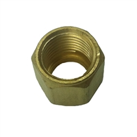 N-20 O2 Hose Brass Nut B 9/16 in - 18-RH