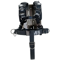 OMS SS/AL Backplate With Comfort Harness System III