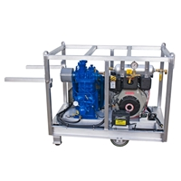 Quincy 325 w/ 9.3 hp Yanmar Diesel Low Pressure Air Compressor 19.4 CFM @ 175 psi w/ Filtration