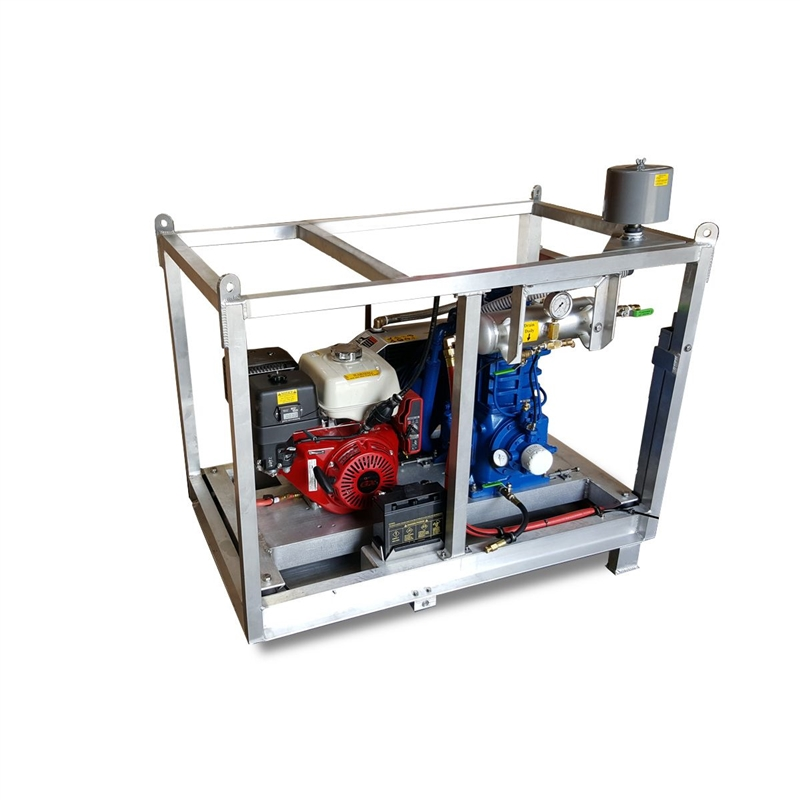 Quincy 325 w/ 11 7 hp Honda Gas Low Pressure Air Compressor 19 CFM @ 175 psi
