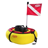 "Brownie's Third Lung ""Sea Lion"" Floating Hookah Diving System, 3 Diver, Battery Powered"