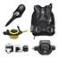 "Aqua Lung's ""Travel Package"": Zuma BCD, Mikron Regulator, ABS Octopus, i300C 2 Gauge"