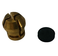 "Broco 1/8"" Collet Kit, 1/8"" Collet & Washer"