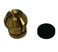 "Broco 3/16"" Collet Kit, 3/16"" Collet & Washer"