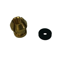 "Broco 3/8"" Collet Kit, 3/8"" Collet & Washer"