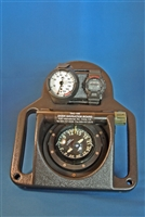 RJE International TAC-100AM Complete Navigation Board with Analog Metric Depth Gauge and Dive Chronometer