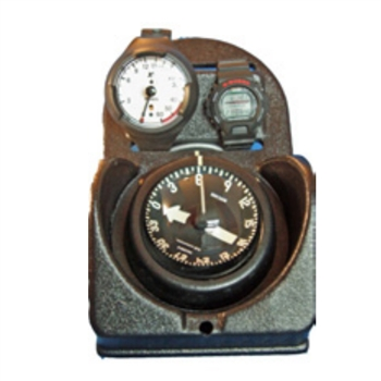 RJE International TAC-200AM Complete Navigation Board with Analog Metric Depth Gauge and Dive Chronometer