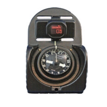 RJE International TAC-200D Complete Diver Navigation Board with Digital Depth Gauge