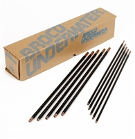 "Broco Ultrathermic Underwater Cutting Rods 3/8"" x 18"" - 50 Rods"