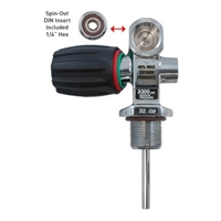 XS Scuba PRO Valve For 3300 Psi Aluminum Cylinders