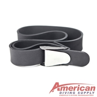 XS SCUBA Rubber Weight Belt Stainless Steel Quick Release Buckle