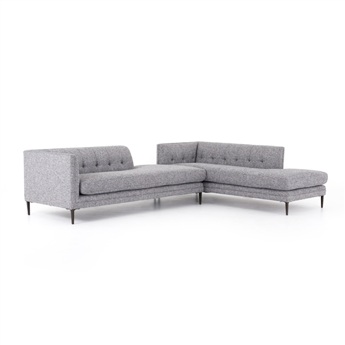 Kingsley Bumper Chaise Sectional
