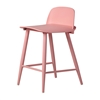 Nerd Replica Counter Stool in Pink