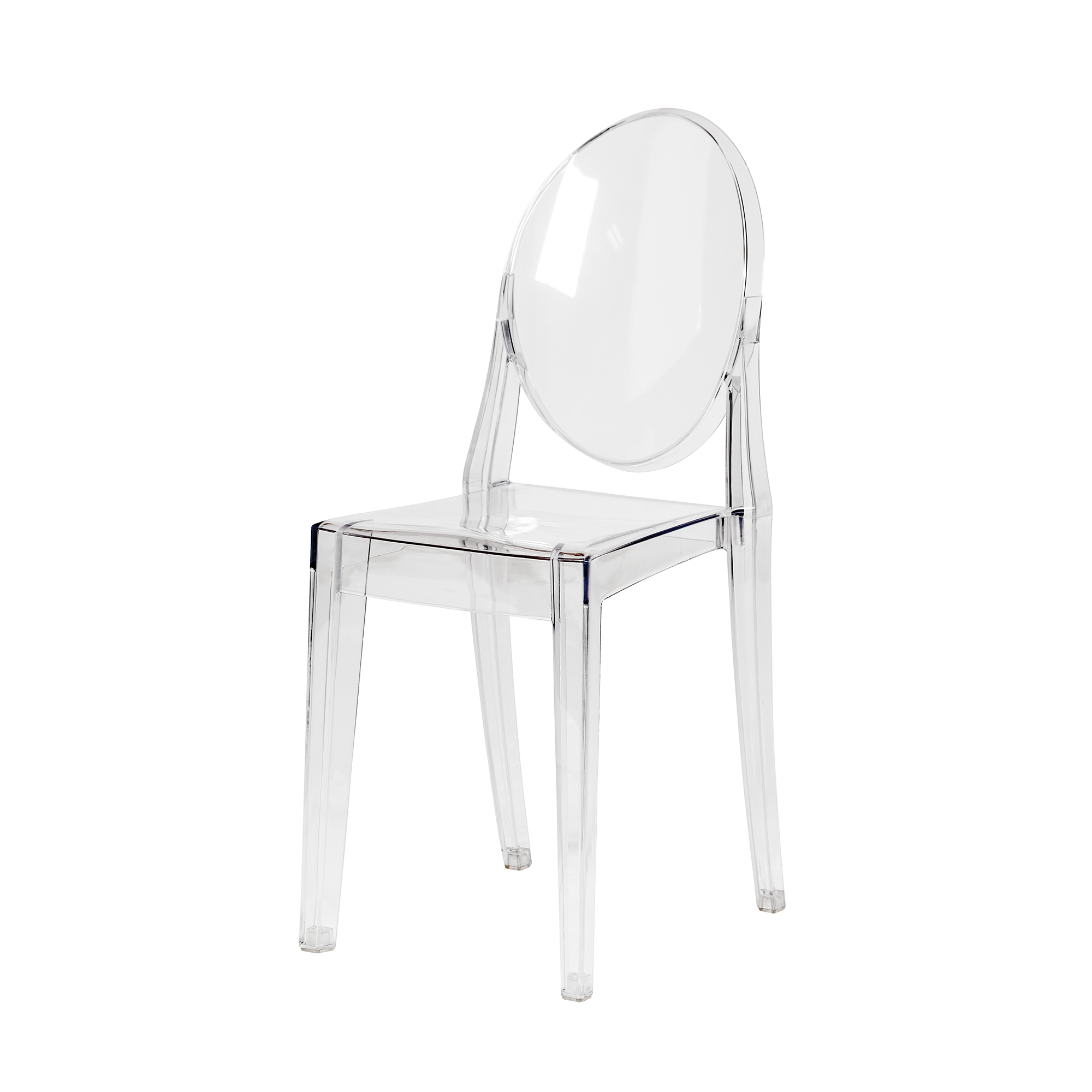 Astounding Ghost Side Chair In Clear Ocoug Best Dining Table And Chair Ideas Images Ocougorg