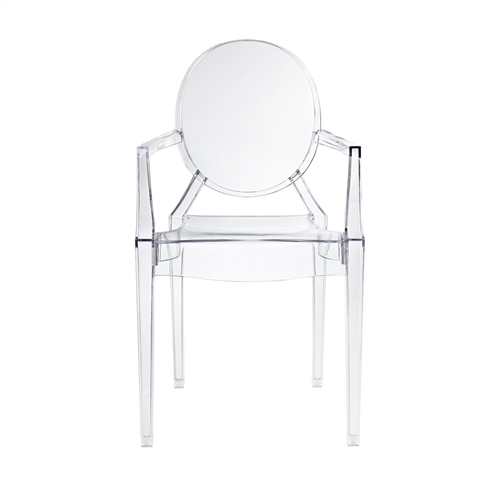 Ghost Arm Chair in Clear