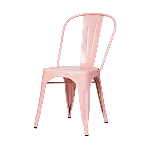 Bastille Side Chair in Pink