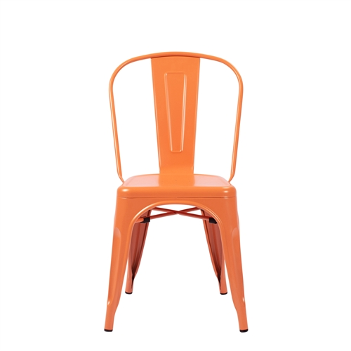 Bastille Side Chair in Orange