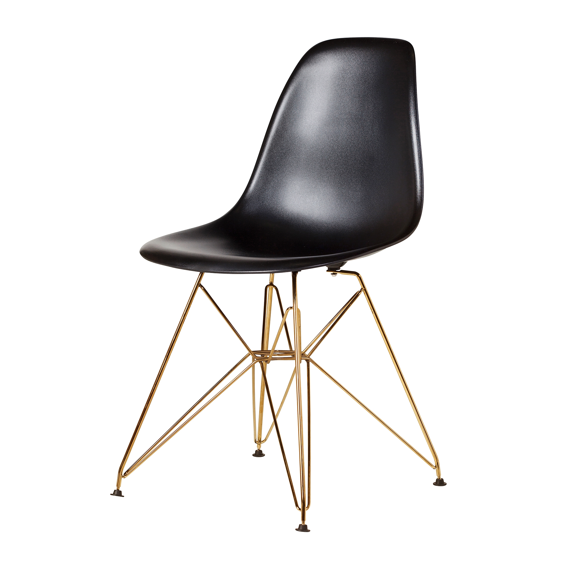 Eames Dsr White Side Chair Eiffel Legs The Khazana Home Austin Furniture