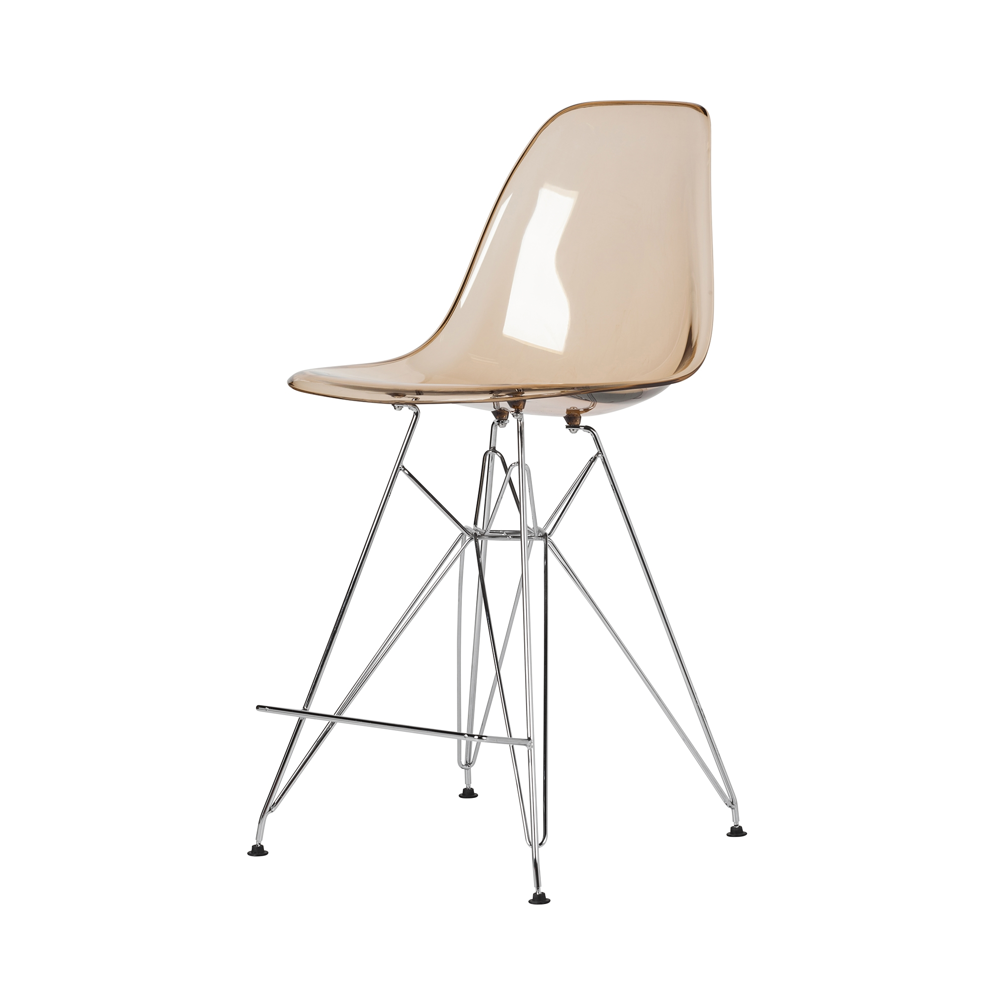 Prime Molded Acrylic Counter Stool In Translucent Amber And Gold Finish Legs The Khazana Home Austin Furniture Store Inzonedesignstudio Interior Chair Design Inzonedesignstudiocom