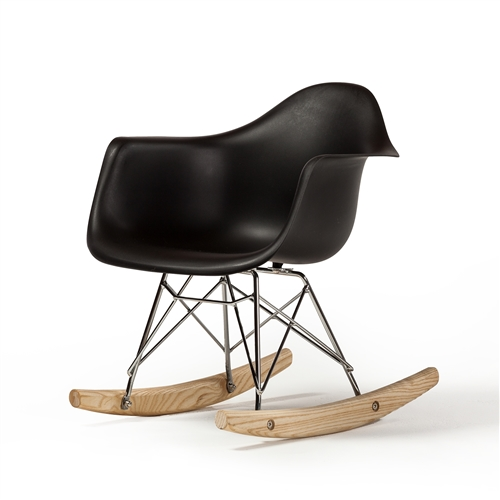 Charles Eames RAR Children's Rocking Chair Black