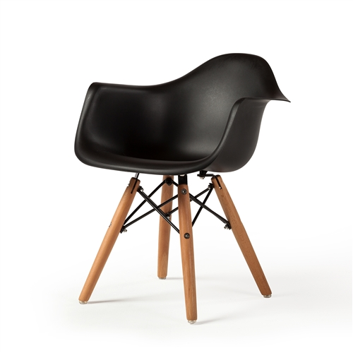 Charles Eames DAW Children's Arm Chair Black