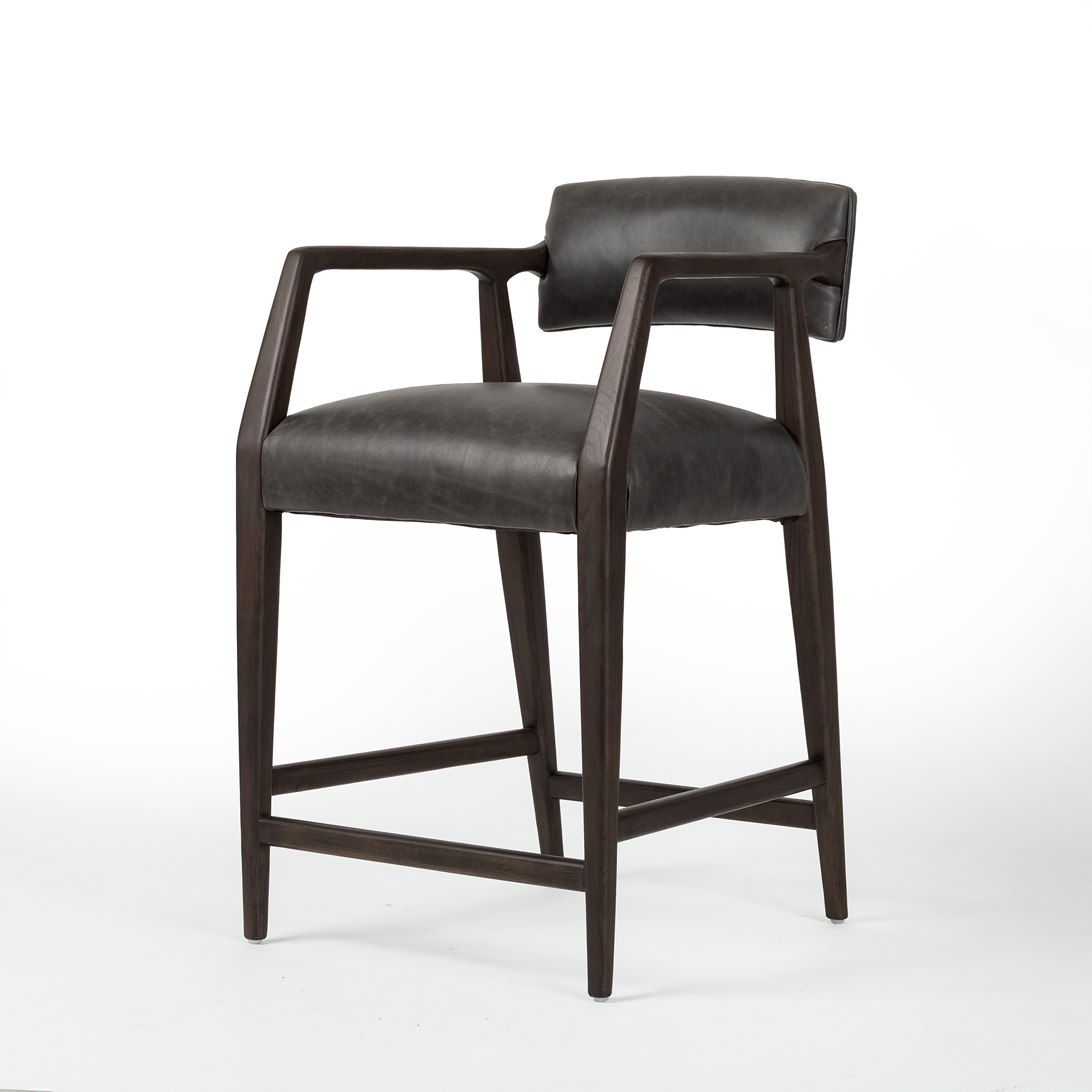 Prime Abbott Tyler Counter Stool In Chaps Ebony Caraccident5 Cool Chair Designs And Ideas Caraccident5Info