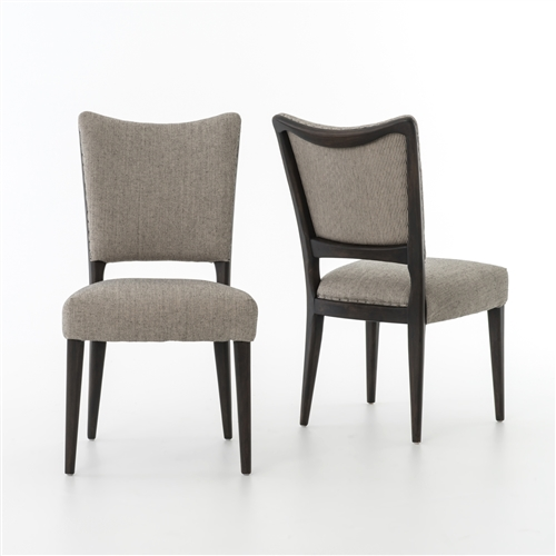 Lennox dining chair- Ives White