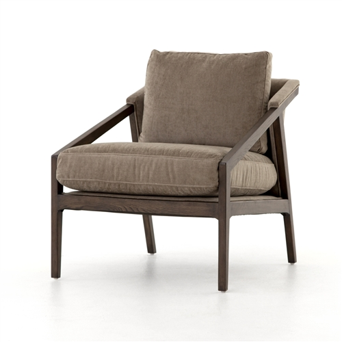 Abbott Earl Occasional Chair-Silver Sage