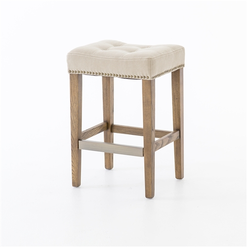 Ashford Sean Counterstool with Kickplate-Desert Canvas