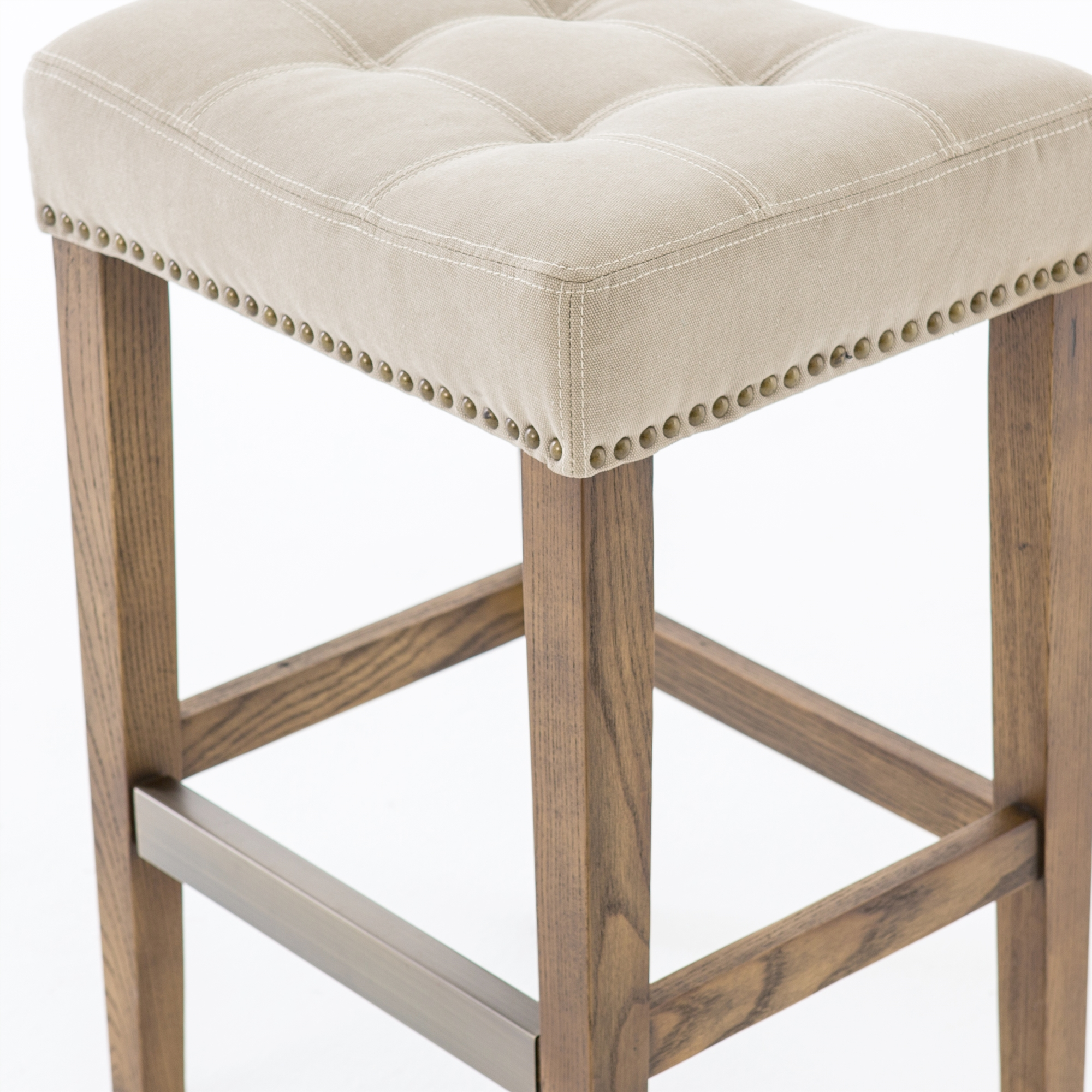 Strange Ashford Sean Counterstool With Kickplate In Desert Canvas Unemploymentrelief Wooden Chair Designs For Living Room Unemploymentrelieforg