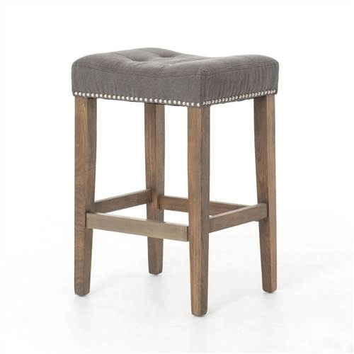 Ashford Sean Counterstool with Kickplate-Dark Moon Canvas