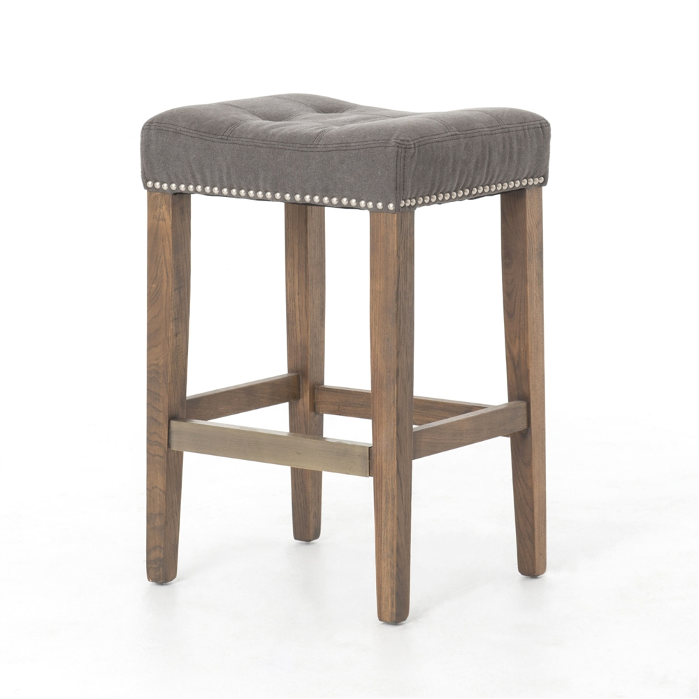 Swell Ashford Sean Counterstool With Kickplate In Dark Moon Canvas Squirreltailoven Fun Painted Chair Ideas Images Squirreltailovenorg