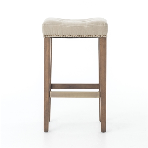 Ashford Sean Barstool with Kickplate - Desert Canvas
