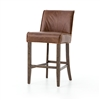 Ashford Aria Counterstool in Brown Leather