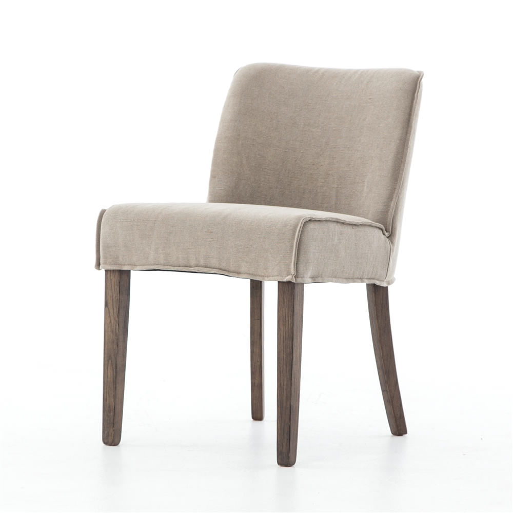 Delicieux Ashford Aria Dining Chair In Heathered Twill Stone