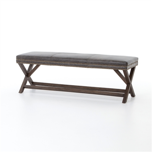 "Ashford Elyse Bench 59"" in Durango Smoke"