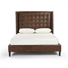 Four Hands Jefferson Queen Bed, Vintage Tobacco