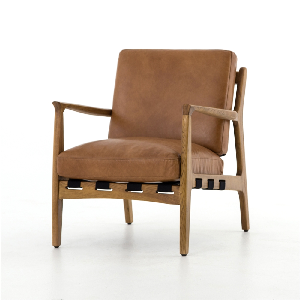 Bishop Silas Chair In Patina Copper