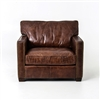 Carnegie Larkin Club Chair-Cigar