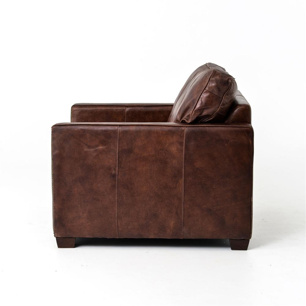 Carnegie larkin club chair cigar khazana home austin