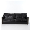 "Carnegie Larkin 88"" Sofa-Old Saddle Black"