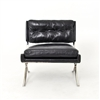 Carnegie Heathrow Lounge Chair Black