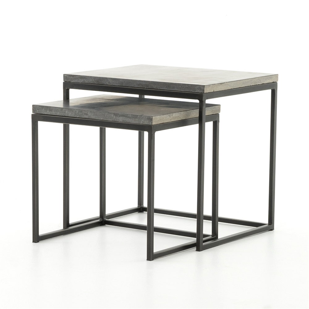 nesting end tables. Hughes Harlow Nesting End Tables