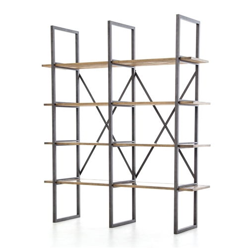 Hughes Shane Double Bookshelf