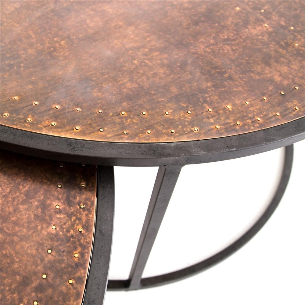 hughes catalina nesting coffee table the khazana home austin